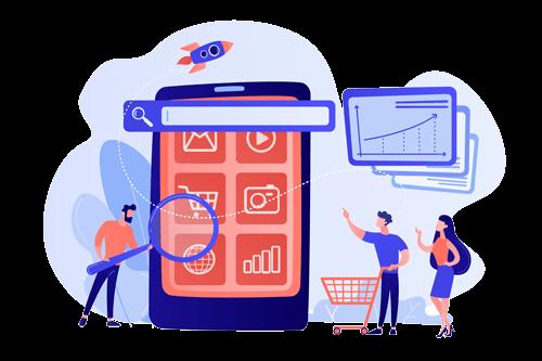 طراحی اپلیکیشن فروشگاهی