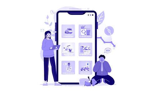 طراحی اپلیکیشن شرکتی