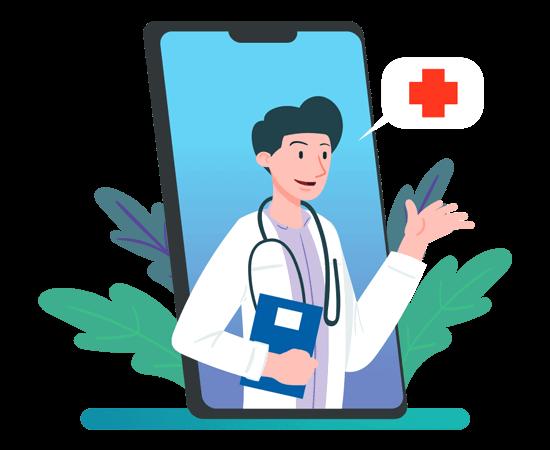طراحی اپلیکیشن پزشکی