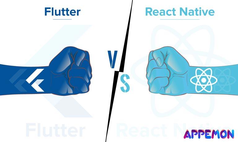 Flutter یا React Native